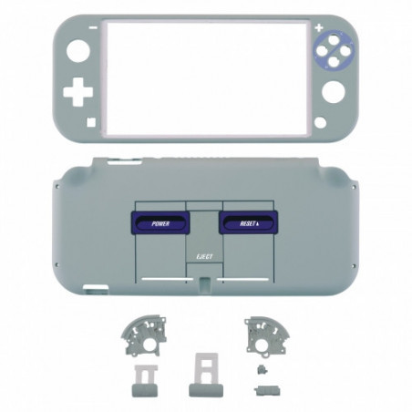 NS Switch Lite Complete Shell Kit Soft Touch Classics SNES