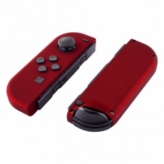 PS4 Dualshock 4 V2 Front Faceplate Color Series Silky Soft Touch Red