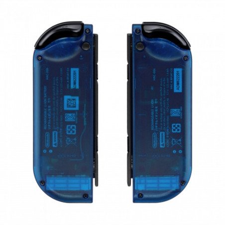 NS Switch Joy-con Left and Right Replacement Case Set Clear Blue
