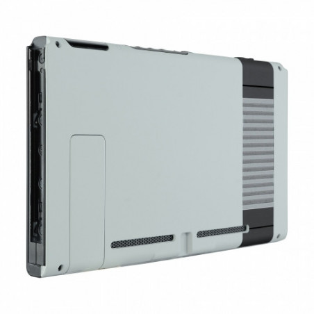 NS Switch Console Backplate With Kickstand Silky Soft Touch Classics NES Style
