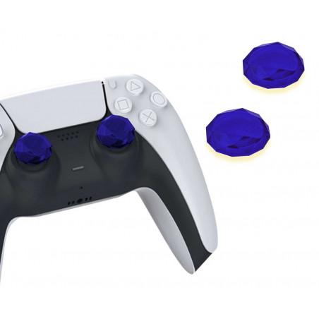 PS5 DUALSENSE CONTROLLER THUMBCAPS DIAMOND BLUE