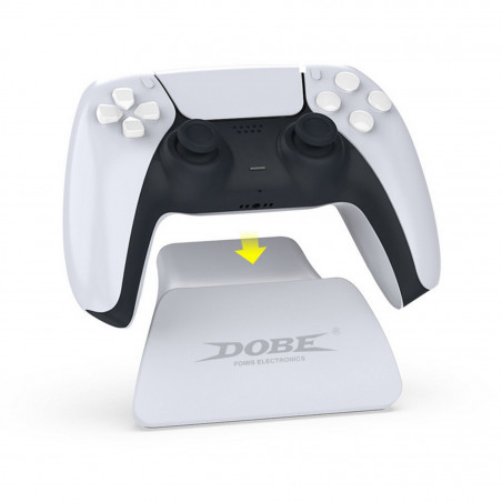 PS4 DS4 Controller Gloss White Replacement Top and Bottom Shell