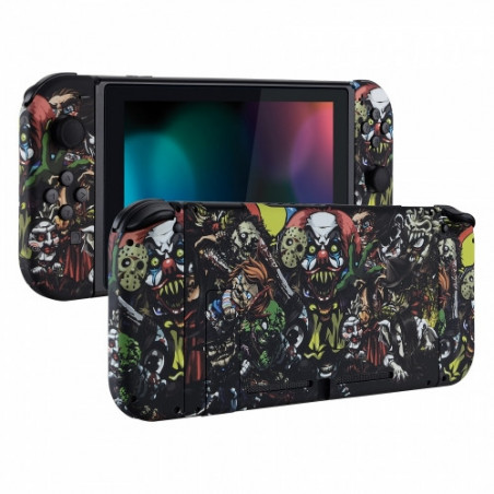 NS Switch Console Full Shell Silky Soft Touch Monster