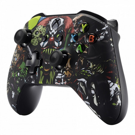 XBOX ONE S Controller Front Faceplate Art Series SCREAM