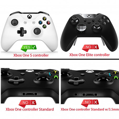 XBOX ONE S Controller Original LB RB Trigger Button with Middle Piece Dark Red