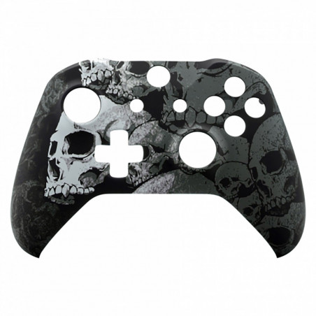 XBOX ONE S Controller Front Faceplate Art Series Skulls