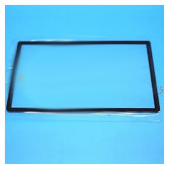 2DS Front Mirror Glass Black