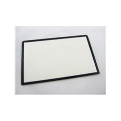 3DS XL/LL Replacement Top Surface Glass with Gasket Sticker White
