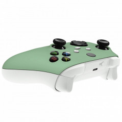 XBOX SERIES S/X Controller Front Faceplate Soft Touch Series Matcha Green