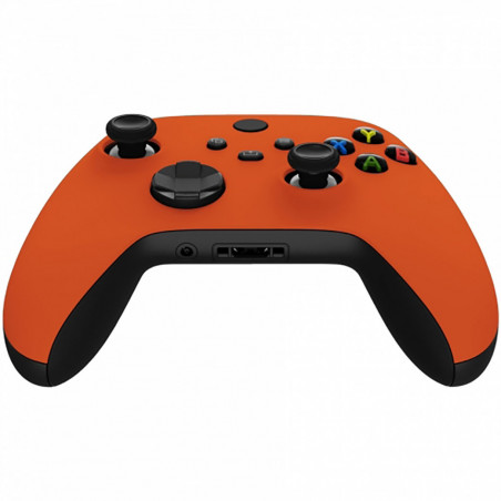 XBOX SERIES S/X Controller Front Faceplate Soft Touch Series Bright Orange