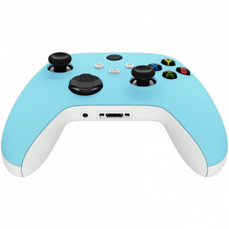 XBOX SERIES S/X Controller Front Faceplate Soft Touch Series Heaven Blue