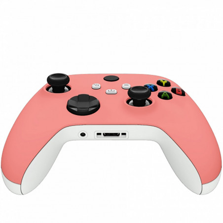 XBOX SERIES S/X Controller Front Faceplate Soft Touch Series Coral Pink