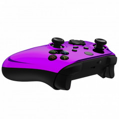 XBOX SERIES S/X Controller Front Faceplate Chrome Series Glossy Chrome Purple