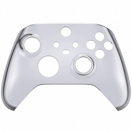XBOX SERIES S/X Controller Front Faceplate Chrome Series Glossy Chrome Silver