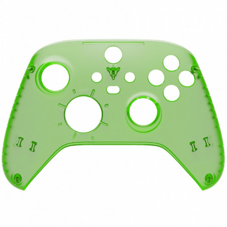 XBOX SERIES S/X Controller Front Faceplate Clear Green