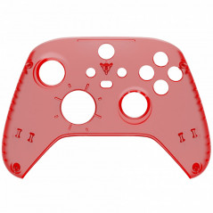 XBOX SERIES S/X Controller Front Faceplate Clear Red