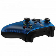 XBOX SERIES S/X Controller Front Faceplate Clear Blue