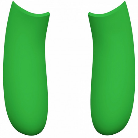 XBOX Series S/X Side Rails Soft Touch Lime Green