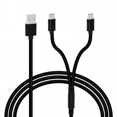 USB Type-C Charging Cable DUAL CHARGE
