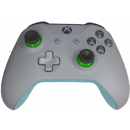 Xbox One S Official Microsoft Design Lab Light grey / Blue Wireless Controller + 3.5mm stereo headset jack + Bluetooth Preowned