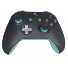 Xbox One S Official Microsoft Design Lab Grey / Blue Wireless Controller Refurbished