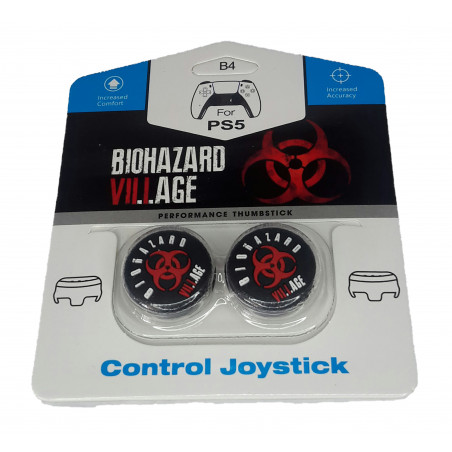 PS5 Controller Raised Performance Thumbstick Extenders FPS RESIDENT EVIL