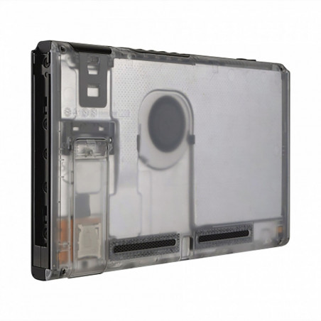 NS Switch Console Backplate With Kickstand Transparent Clear