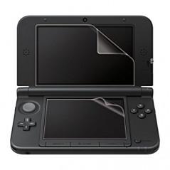 New 3DS Hori Anti-Scratch Skin Screen Protector Film Clear