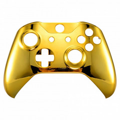 XBOX ONE S Controller Front FacePlate Chrome Series GOLD