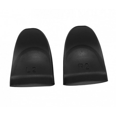 PS4 JDM-001/JDM-011/ JDM-040 Controller Black External Extended Trigger Cap L2 R2