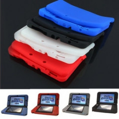 NEW N3DS SILICON PROTECT CASE RED
