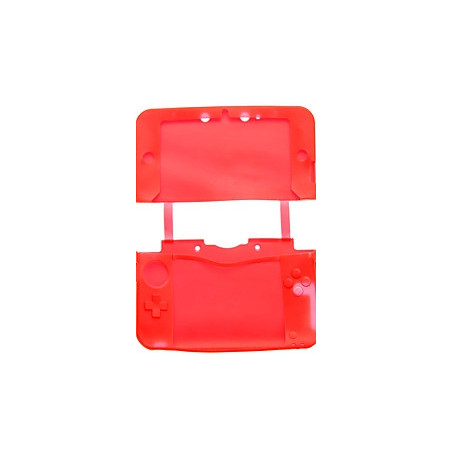 3DS XL SILICON PROTECT CASE RED