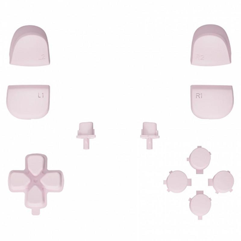 PS5 Dualsense Button Set Matte UV Sakura Pink