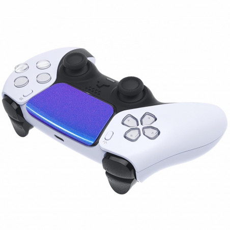 PS5 Dualsense Controller Touchpad Cover Glossy Chameleon Blue Purple