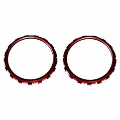 PS5 Dualsense Controller Accent Rings Glossy Vampire Red