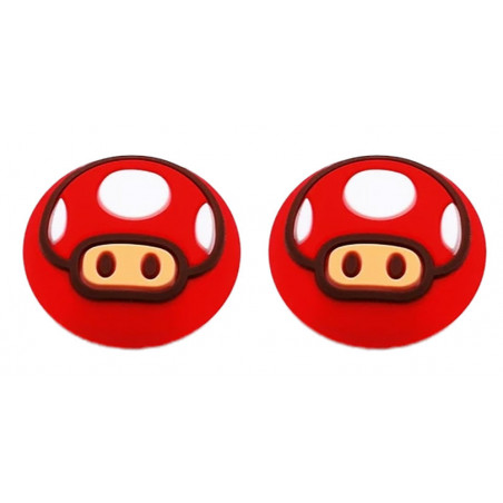 PS5 DUALSENSE CONTROLLER THUMBGRIPS RED TOAD