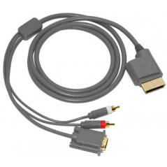 Xbox 360 Third Party VGA HD AV And Optical Output Cable
