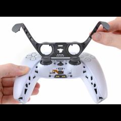 PS5 Dualsense Controller Plastic Trim Black