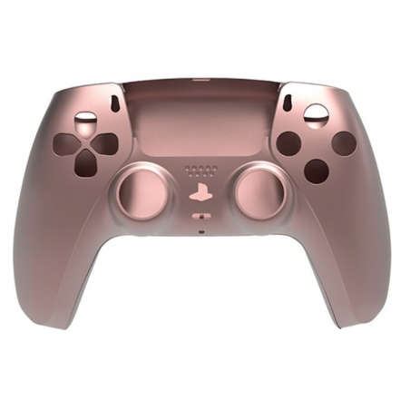 PS5 Dualsense Controller Top and Bottom Shell with Trim Rose Gold