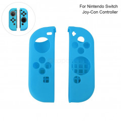 Nintendo Switch Joy-Con Controller Protective Anti-Slip Soft Silicone Skin Case Set Blue