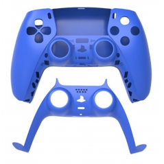 PS5 Dualsense Controller Top and Bottom Shell with Trim Blue