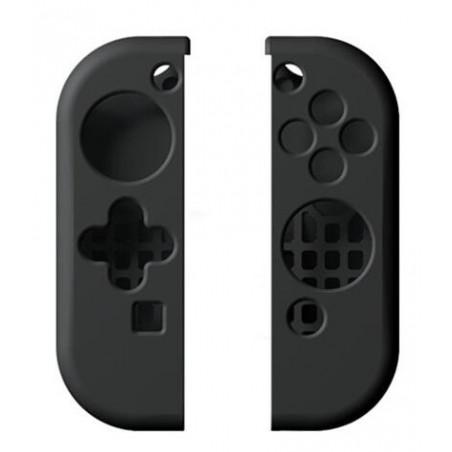 Nintendo Switch Joy-Con Controller Protective Anti-Slip Soft Silicone Skin Case Set Black