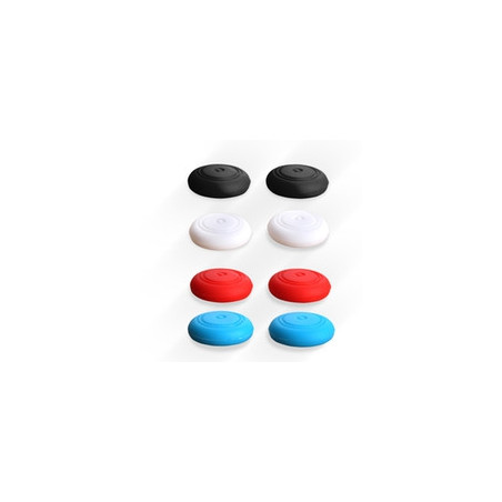 NS Switch Anti-slip Silicone ThumbStick Grips 2 x White Pack ( 2 x Grips Only )