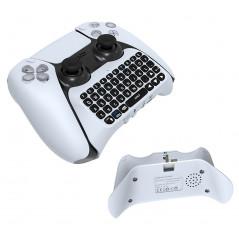 PS5 DUALSENSE CONTROLLER WIRELESS MINI KEYBOARD WHITE