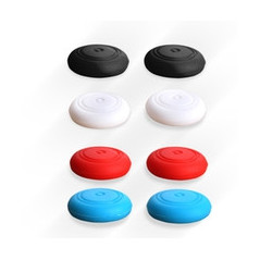 NS Switch Anti-slip Silicone ThumbStick Grips 2 x RED Pack ( 2 x Grips Only )