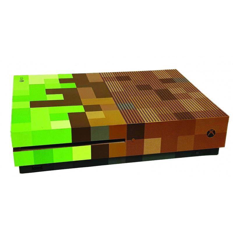 XBOX ONE Slim Console Minecraft Original Plastic Top / Side / Bottom Shell