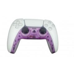 PS5 Dualsense Controller Plastic Trim Clear Purple