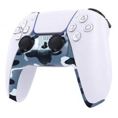 PS5 Dualsense Controller Plastic Trim Camouflage Blue
