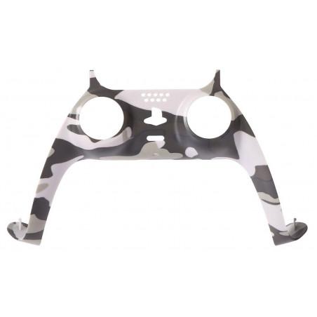 PS5 Dualsense Controller Plastic Trim Camouflage Grey