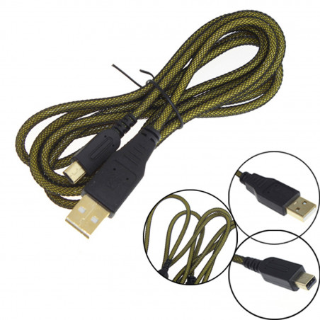 NEW 3DS / 3DS XL / DSi  3M USB Data Sync Charging Cable